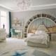 Авторский дизайн интерьера светлой детской комнаты от MAD group
