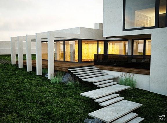 Авторский дизайн интерьера дома от MAD group