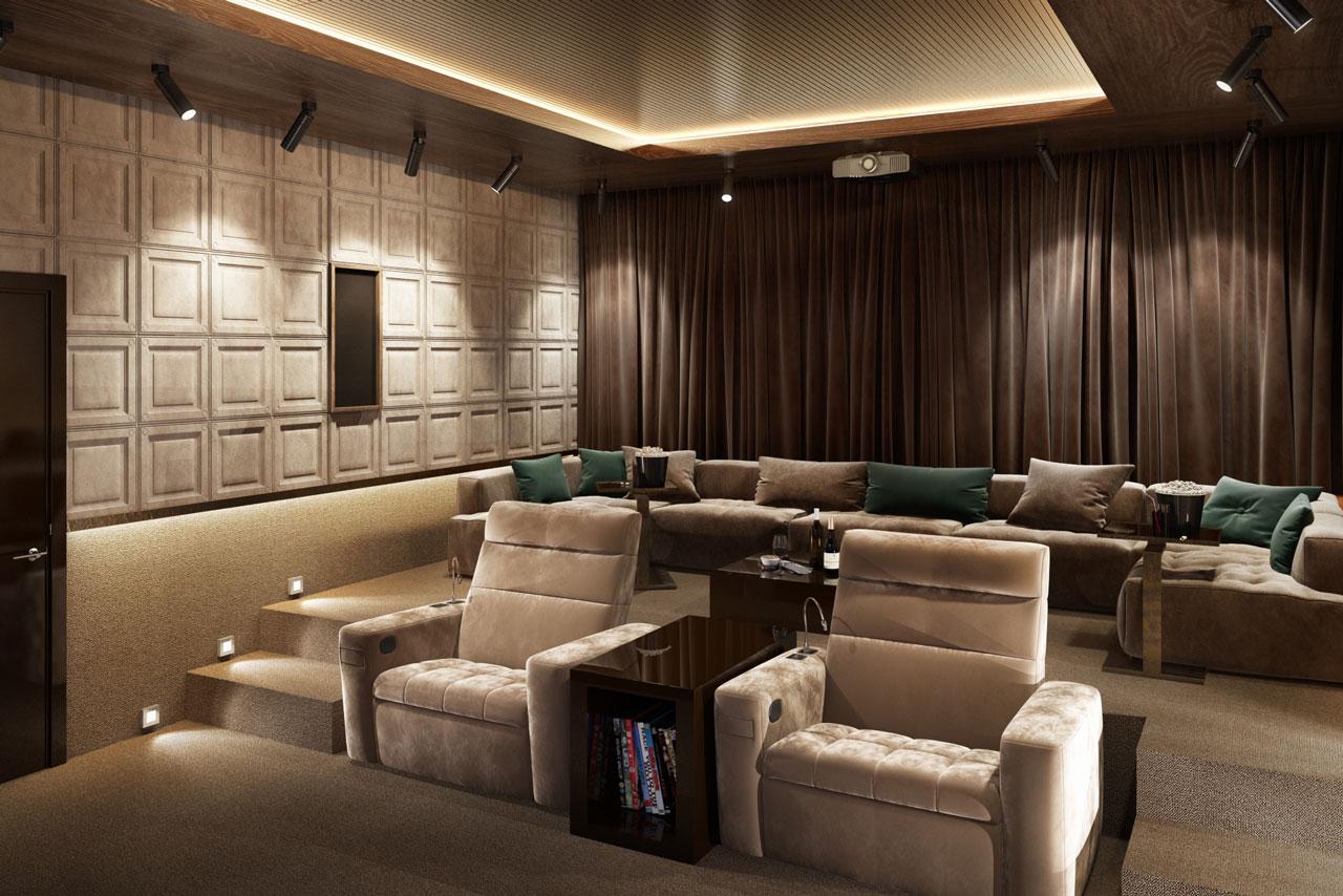 Авторский дизайн кинотеатра